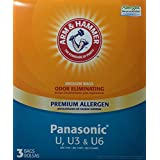 Arm & Hammer Odor Eliminating Vacuum Bags Panasonic U, U3 & U6