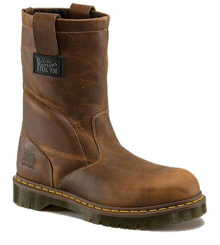 Dr. Martens Women's 2295 Steel Toe Boots,Brown,3 M UK / 5 D(M) US