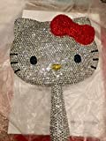Bling Bling hello kitty compact mirror handmade