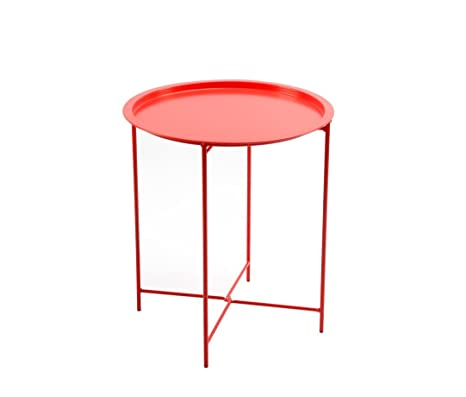 Exceptionnel Finnhomy Small Round Side End Table, Sofa Table, Tray Side Table, Snack  Table