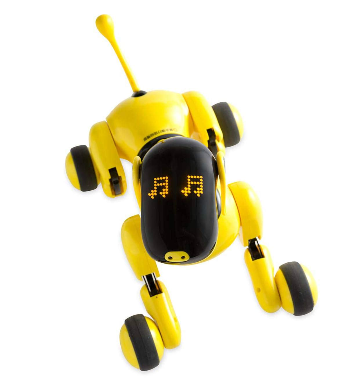 HearthSong Gizmo The Voice Controlled Robotic Dog - Electronic Pet Toy for Kids - 13 L x 5 W x 7'' H, Yellow by HearthSong (Image #6)
