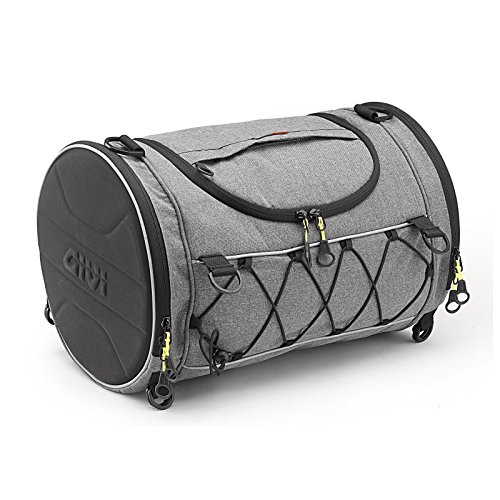 Motorcycle Roll Bag MZ 1000ST Givi EA107GR 35 liters gray (1000st Kit)
