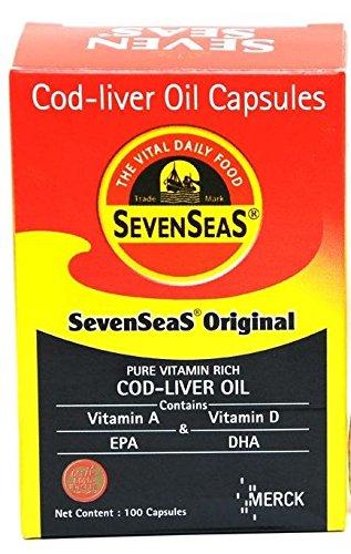 Seven Seas Cod liver fish oil 500 Capsule