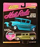 1929 CREW CAB * OLIVE GREEN * Johnny Lightning 1997 HOT RODS Release Four 1:64 Scale Die Cast Vehicle