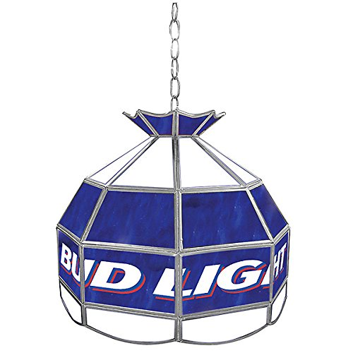 Bud Light Tiffany Gameroom Lamp, 16'' by Trademark Gameroom