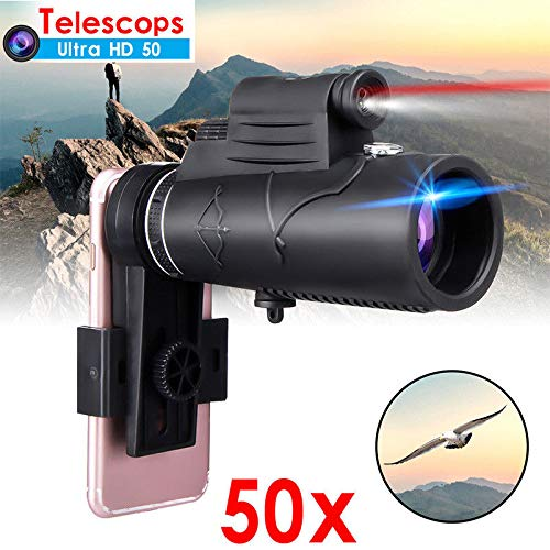 DSstyles Monocular 50X60 Zoom Optical HD Lens Telescope for iPhone Samsung by DSstyles