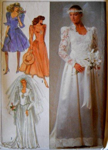 80s bridesmaid dress pattern - 8