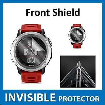Garmin Fenix 3 reloj GPS Protector de pantalla en la parte delantera (incluye panel frontal): Amazon.es: Electrónica