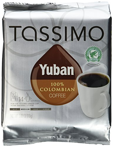 tassimo coffee colombian - 2