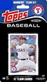 2014 Topps Texas Rangers Factory Sealed Special Edition 17 Card Team Set with Yu Darvish, Prince Fielder Plus