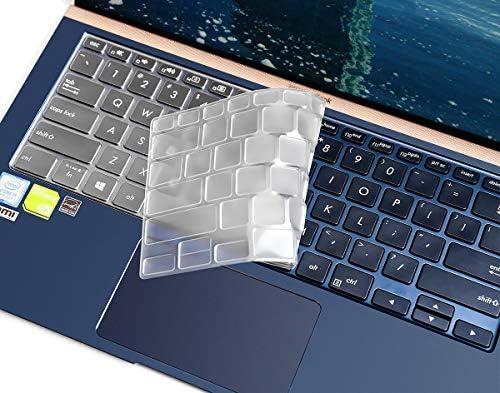 [해외]ASUS ZenBook 14 Keyboard Cover Soft Ultra Thin TPU Keyboard Cover for ASUS ZenBook UX433FA UX433FN 14 Laptop Keyboard Protector Keyboard Protective Skin US Layout / ASUS ZenBook 14 Keyboard Cover Soft Ultra Thin TPU Keyboard Cover ...