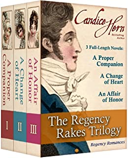 The Regency Rakes Trilogy (Boxed Set of 3 Regency Romances) by [Hern, Candice]