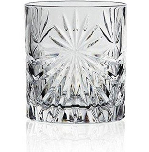 RCR Cristalleria Italiana Oasis Bicchiere Double Old-fashioned Tumbler (10 1/2oz) Set of 6 ()