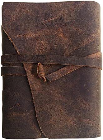 Leather Journal Notebook Handmade Sketchbook product image
