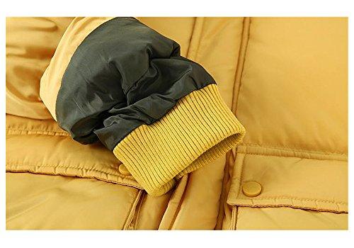 QJH New Pattern Boys Girls Fashion Down Coat Childrens' Puffer Hoody Jacket by QJH (Image #4)