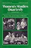 img - for Women's Studies Quarterly (91:1-2): Women, Girls and the Culture of Education (v. 19, No. 1 & 2) book / textbook / text book