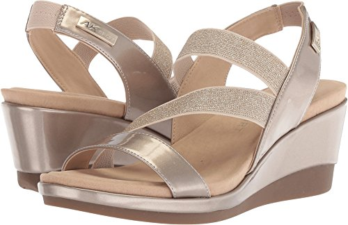 Womens Anne Synthetik Sandal Gold Light Peppina Wedge Klein gAwS5qBA