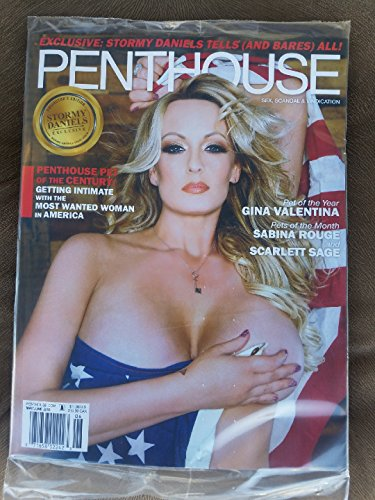 Penthouse Magazine (May/June, 2018) Stormy Daniels Cover