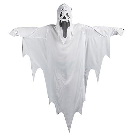 UHAoo Disfraz de Fantasma de Vampiro Fantasma para Adultos ...