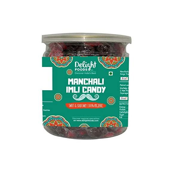 Delight Foods Manchali Imli Candy - 300gm (Set of 3 x 100gm)