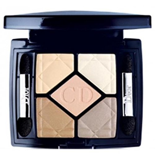 Christian Dior 5 Color Designer All in One Artistry Palette for Women, No. 708 Amber Design, 0.15 Ounce by Dior
