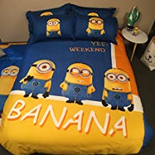 minion bedding queen size