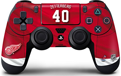 NHL Detroit Red Wings PS4 Controller Skin - Detroit Red Wings #40 Henrik Zetterberg