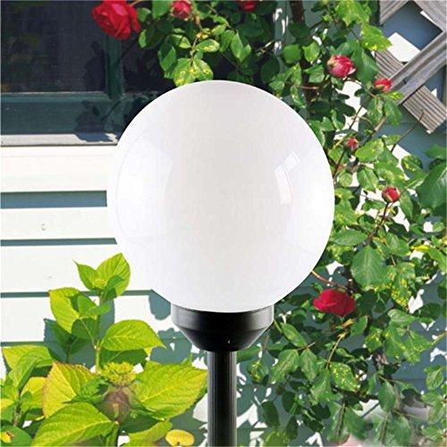 Sogrand 4 LED Solar Globe Stake Light Set, 2-Pack New