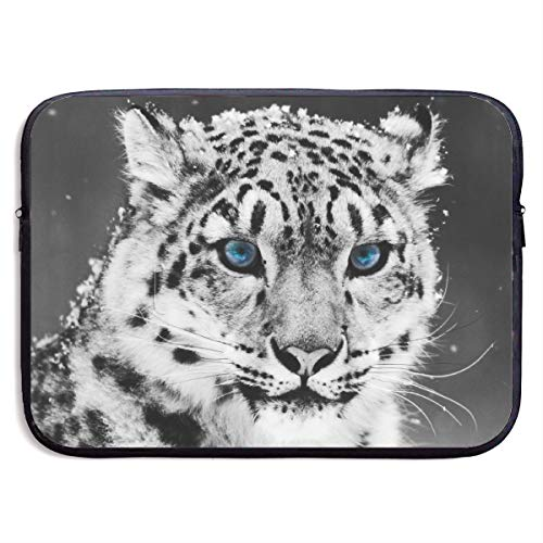 Funny Design Tiger Blue Glacial Eyes Laptop Sleeve Waterproof Neoprene Diving Fabric Protective Briefcase Laptop Bag for IPad, Notebook/Ultrabook/Acer/Asus/Dell