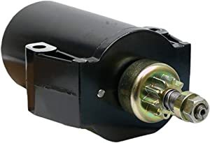 DB Electrical SAB0053 New Starter For Mercury Outboard Marine 9.9 15 18 20 25, 50-90983A, 50-90983A1, 50-90983T1, 5216040 Sm20521 Sm52160 5090983A, 50-893889T M0033984 50-90983A 410-21024 112247 5724