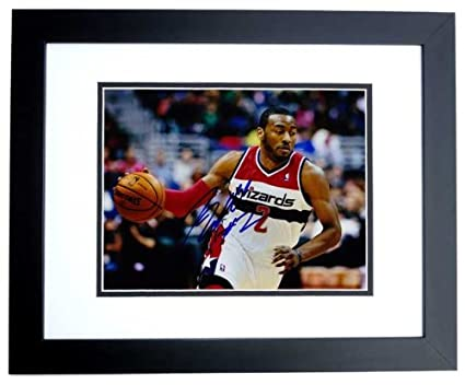 premium selection fa945 5cccc Image Unavailable. Image not available for. Color  John Wall Signed -  Autographed Washington Wizards ...