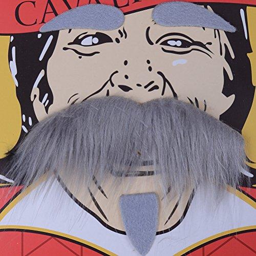 Funny Party Self-adhesive Fake Beard Mustache Halloween Decoration
