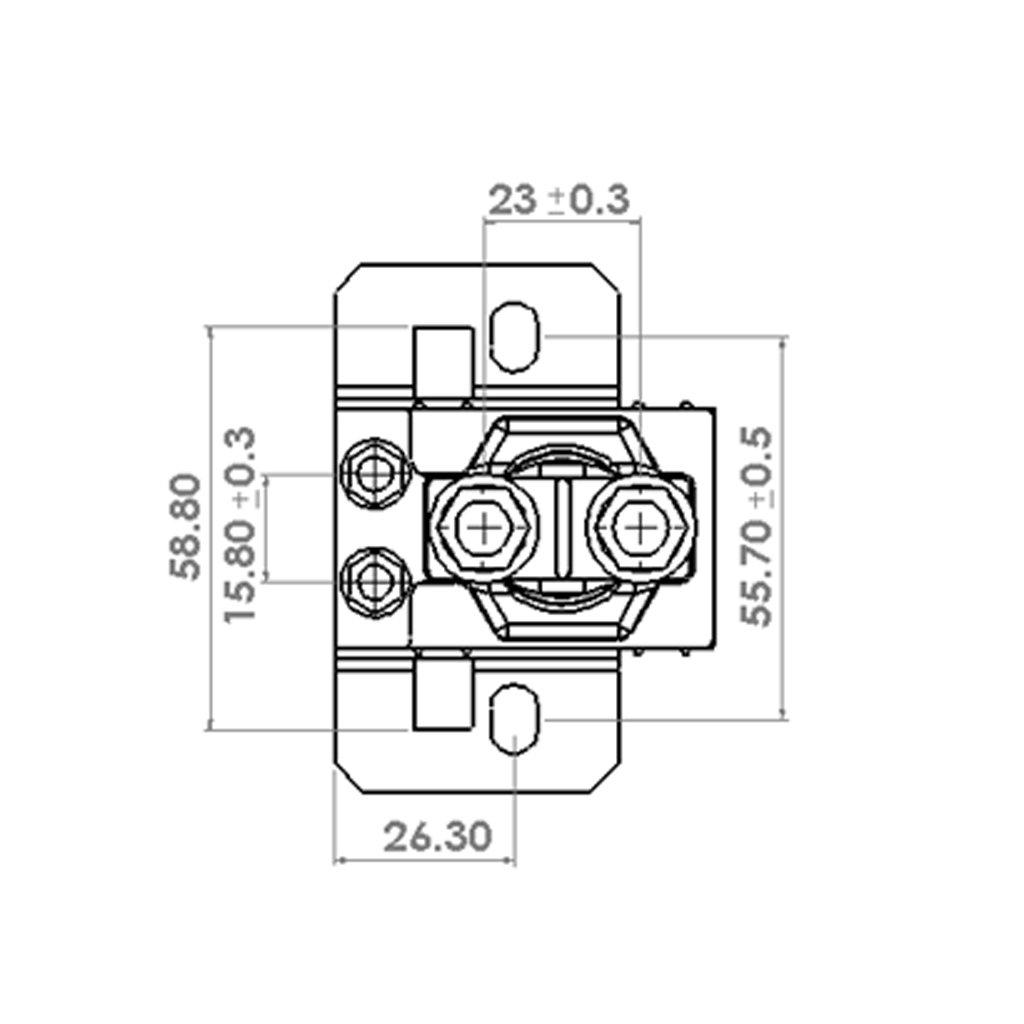 Gazechimp 3x 40AMP 5Pin Automotive Relaissockel Schaltrelais Öffner ...