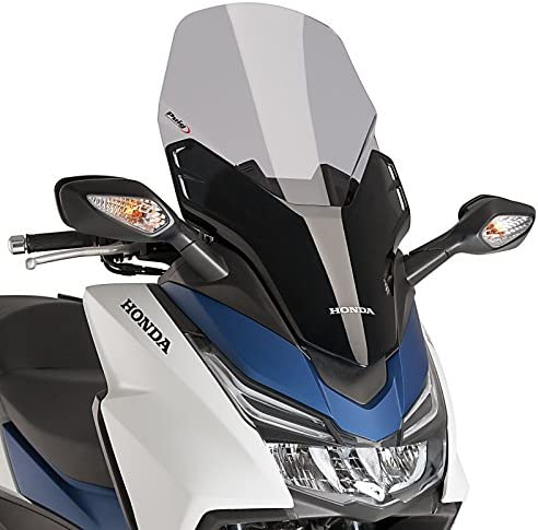 Windschild Puig V-Tech Line f/ür Honda Forza 125 15-17 rauchgrau