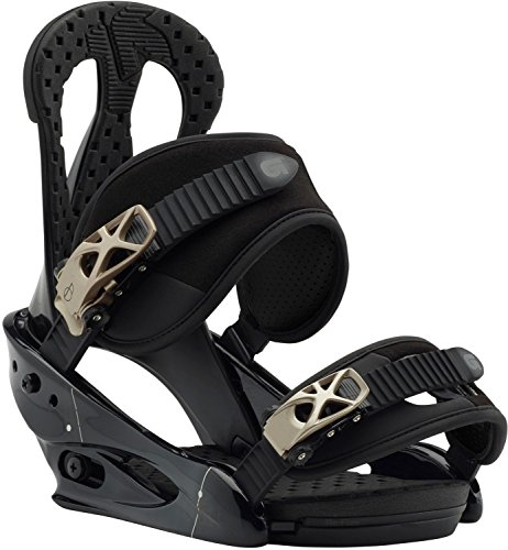 Burton Citizen Snowboard Bindings Black Womens Sz L (8+)