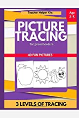 Picture Tracing Book for Preschoolers: Tracing Book for Kids, Ages 3-5, Writing Practice Paperback