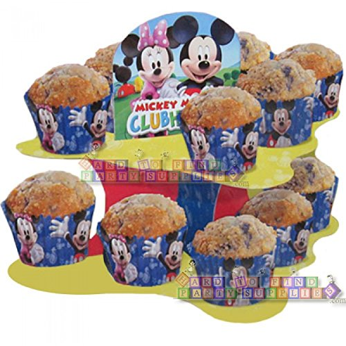 Mickey Mouse Clubhouse Snack Cupcake Stand -