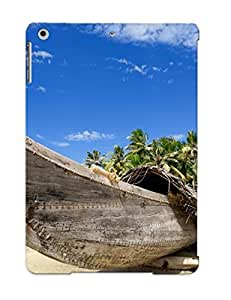 LqdIoan244wMbMU Sky Cover Case - Wooden Boat Protective Trees Case Compatibel With Ipad Air