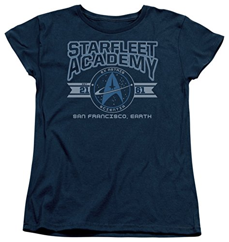 Womens: Star Trek - Starfleet Academy Earth Ladies T-Shirt Size XL