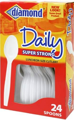 (24 Count Diamond Heavy Duty Spoons Box (24 Pack) )
