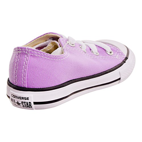 Converse Girls CTAS - Ox - Chuck Taylor All Star (Infant/Toddler), Fuchsia Glow, 4 M US Toddler