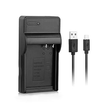 [Cargador rápido] Cargador rápido DMW-BLC12 USB para la batería de la cámara Panasonic DMW-BLC12E / BLC12PP, Lumix DMC-G85, DMC-GX8, DMC-GH2, DMC-G7, ...