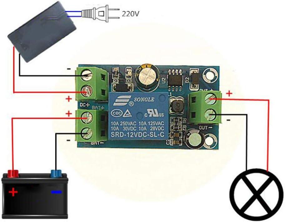 B Baosity DC 12V-48V Auto Emergency Power Failure Auto Switch Battery Controller Board