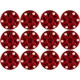 TronX Roller Hockey Puck (12-Pack) (Red)