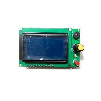 Nadalan Módulo de pantalla de la impresora 3D LCD12864 Mini ...