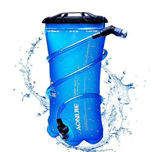 - AONIJIE 1.5L Hydration Pack Water Bladder Insulated 2L/3.0 Liter Water Reservoir Lightweight Camel Hydration Bladder For Bicycling Hiking Camping(1.5L)
