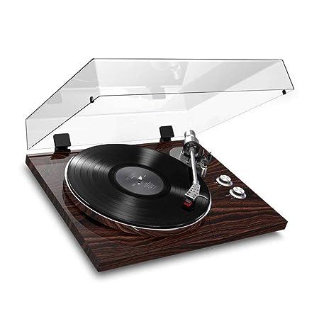 LVSSY-Bluetooth Tocadiscos de Vinilo Vintage Viene con ...