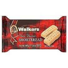 Walkers Shortbread Fingers 160g - Pack of 2