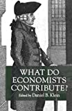 Download What Do Economists Contribute? (Cato Institute Book) in PDF ePUB Free Online