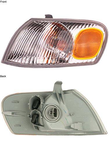 Driver Side Park Lamp - 1998-1999-2000 Toyota Corolla Park Corner Light Turn Signal Marker Lamp Left Driver Side (98 99 00)